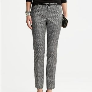 Banana Republic Camden Fit Silver Pants ankle